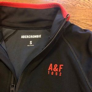 Abercrombie & Fitch Shirts - Abercrombie A&F men's small zip up long sleeve top